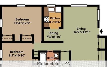 1 bedroom - Cedar Glen Apartments offers both privacy and convenience in a quiet. Cat OK!
