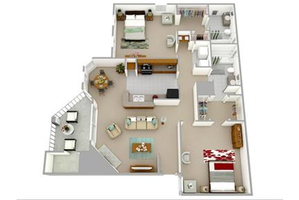 2 bedrooms Apartment - Discover a life of ease in Charlotte. Pet OK!