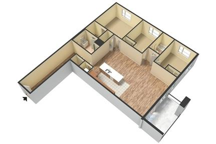 Prominence Apartments 3 bedrooms Luxury Apt Homes. Parking Available! - A new, modern, luxurious community in the heart of the exciting East End