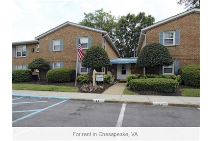 1 Spacious BR in Chesapeake. Pet OK!