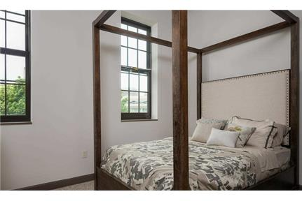 There are 22 residential loft apartments in the Planing Mill.