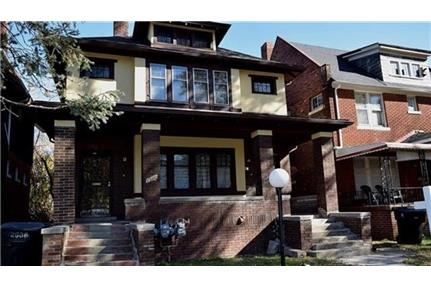 Upper unit available on this two family flat on great block.