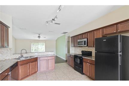 This 4 bedroom 2 bathroom house has it all. Washer/Dryer Hookups!