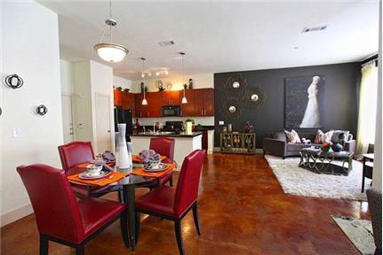 Sawyer Heights Lofts elevate urban living to a new level of luxurious. Carport parking! - Just two miles west of downtown Houston near the desirable Houston Heights neighborhood, Sawyer Heights offers an eclectic combination of historic charm and high-energy elegance