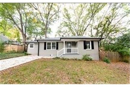 Updated Ranch with fenced rear yard near East Atla for rent in Atlanta, GA