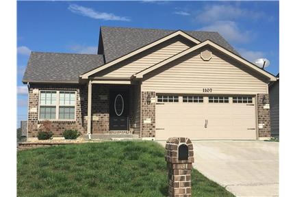 Newer 3 Bed 2 Bath 1.5 Story with Deck! for rent in Foristell, MO