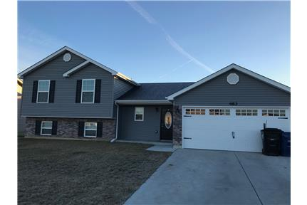 1 Year Old 4 Bed 3 Bath Tri-Level with Upgrades! for rent in Wentzville, MO
