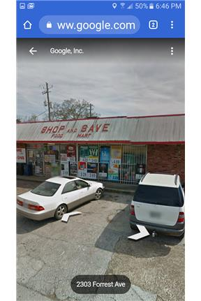 Store for rent for rent in Gadsden, AL