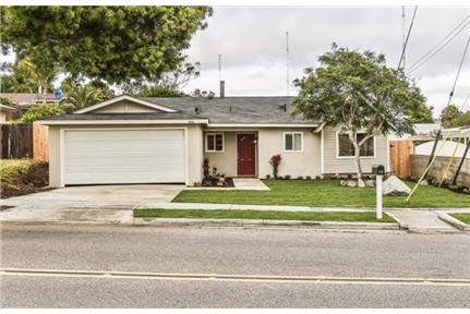 This 3 bedroom, 2 bathroom house is available now for rent in Oceanside, CA
