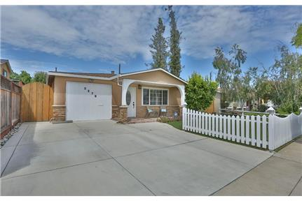 Beautiful 3B/2B house with lovely backyard for rent in San Jose, CA