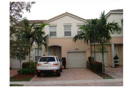 GORGEOUS WEST MIRAMAR TOWNHOME ON A LAKE for rent in Miramar, FL