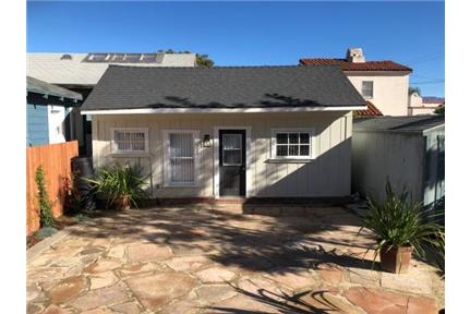 Charming two bedroom one bath single family home for rent in Santa Barbara, CA
