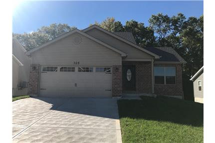 BRAND NEW 3 Bed 2 Bath Home Backing to Woods! for rent in Warrenton, MO