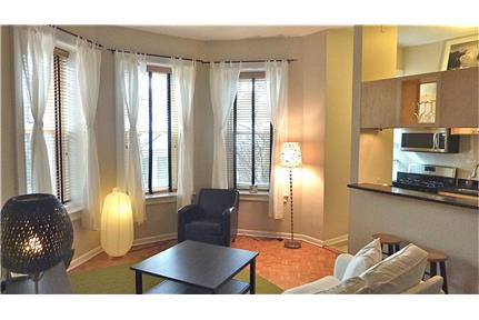 Furnished large 1BR 1BA - Sunny - All utilities for rent in Washington, DC